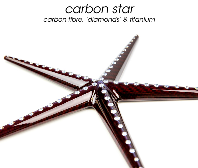 Red Carbon Starfish